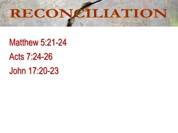 Matthew 5:21-24