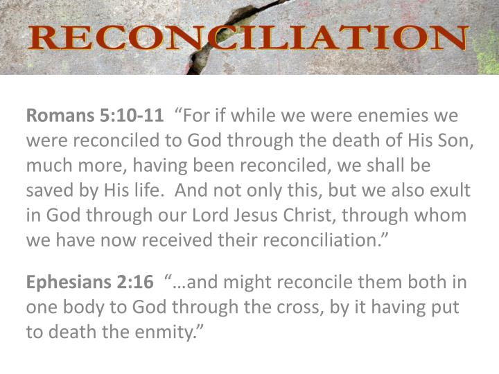 Romans 5:10-11