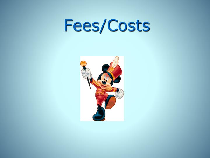 Fees/Costs