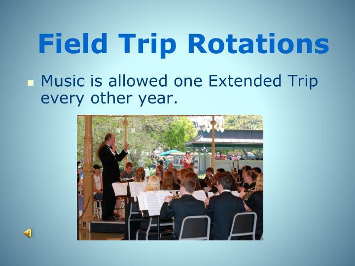 Field Trip Rotations