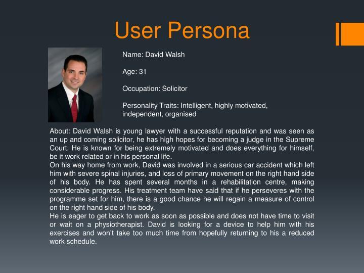 Name: David Walsh