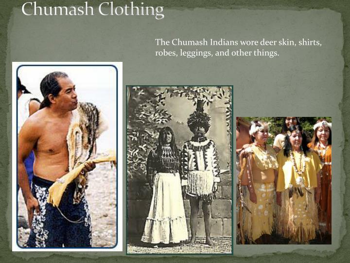 Chumash Clothing