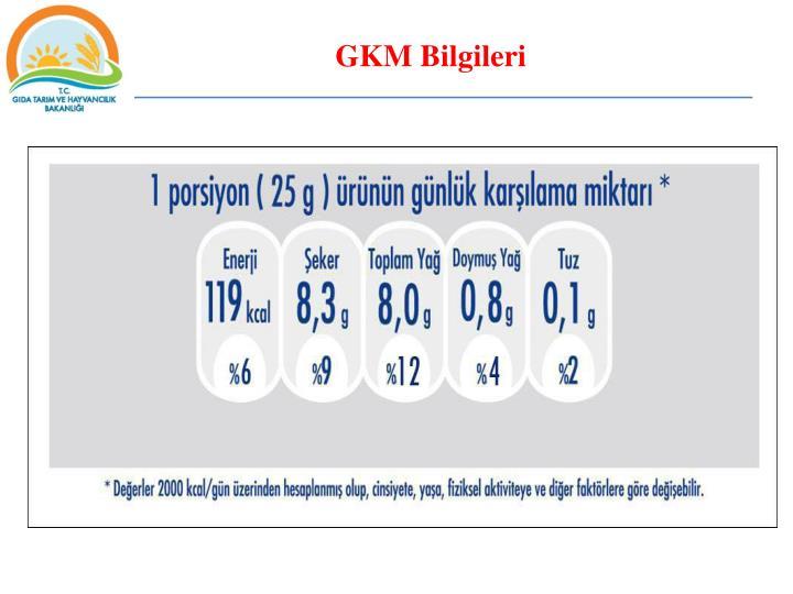 GKM Bilgileri