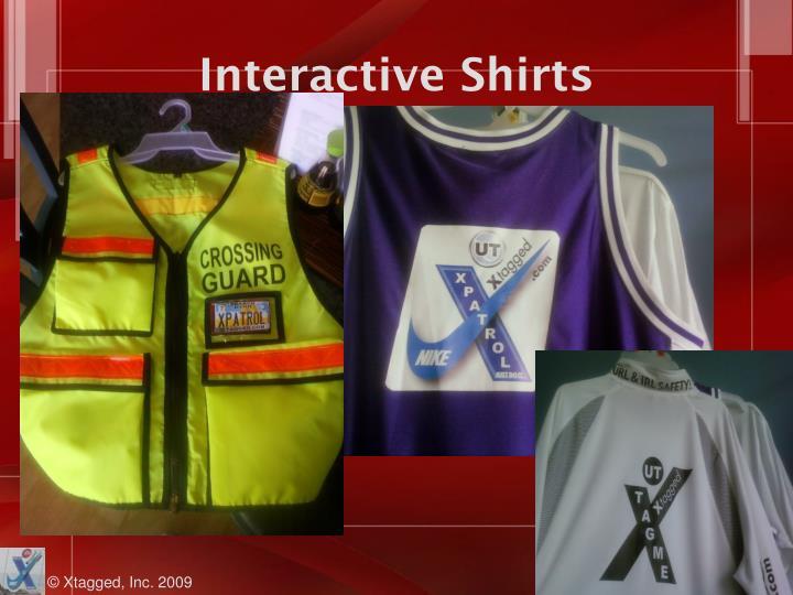 Interactive Shirts