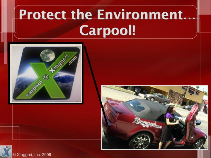Protect the Environment…