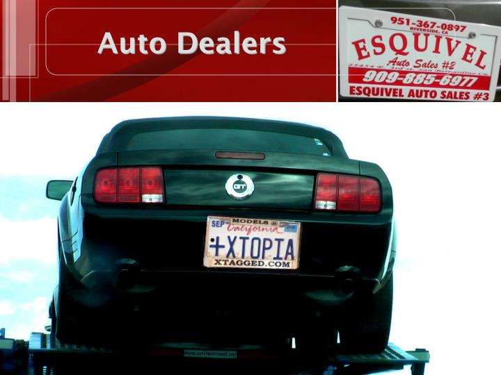 Auto Dealers
