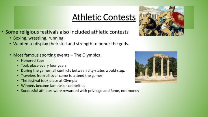 Athletic Contests
