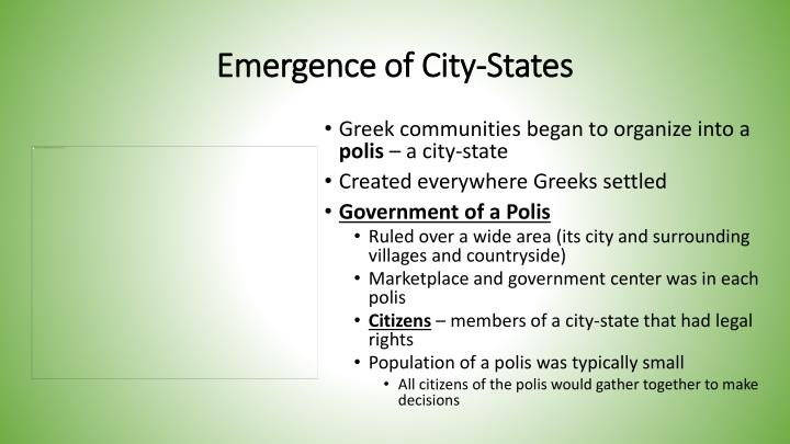 Emergence of City-States