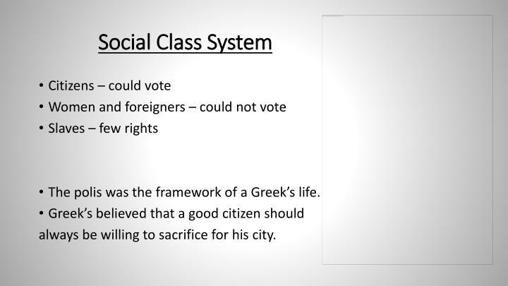 Social Class System