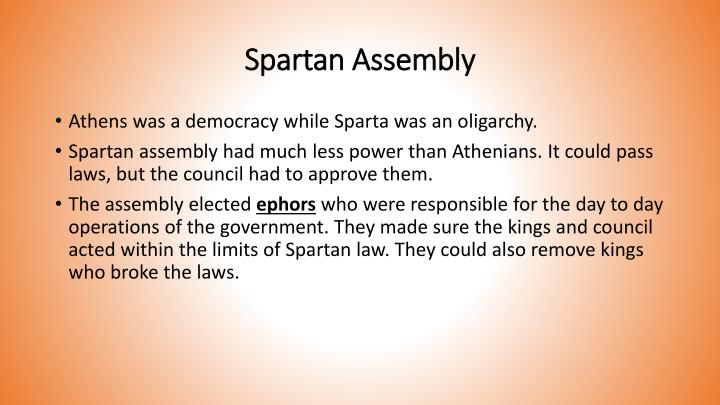 Spartan Assembly