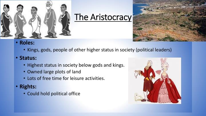 The Aristocracy