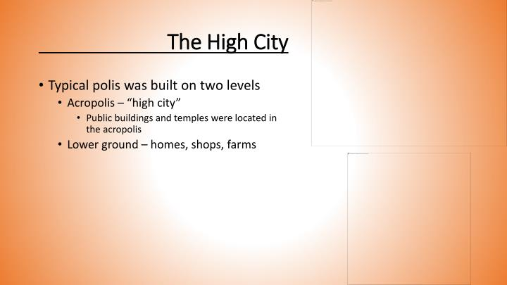 The High City