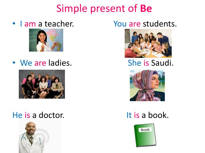 Simple present of