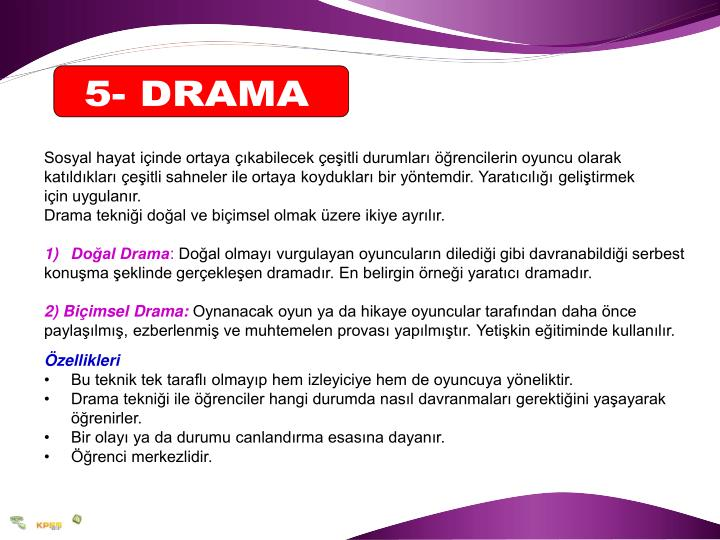5- DRAMA