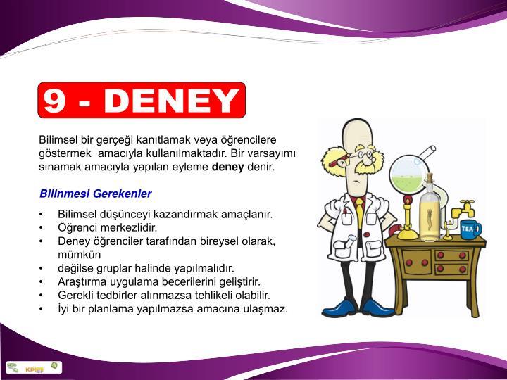 9 - DENEY