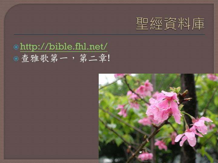 聖經資料庫