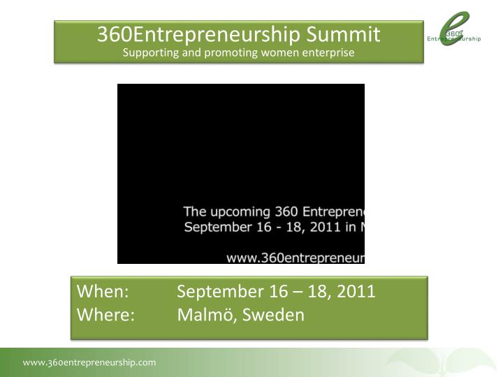360Entrepreneurship Summit