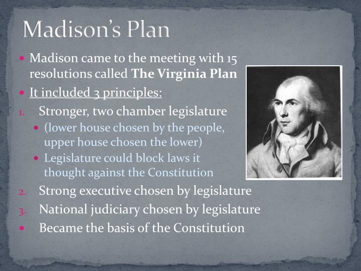Madison's Plan