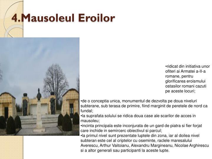 4.Mausoleul Eroilor