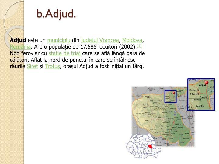 b.Adjud