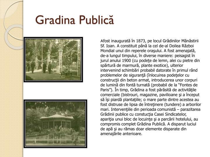 Gradina Publică