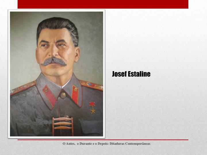 Josef Estaline