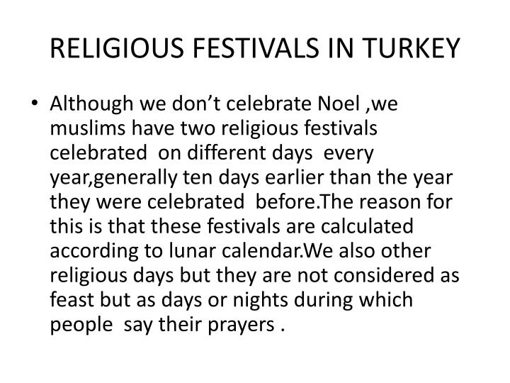 Religious festivals in turkey1