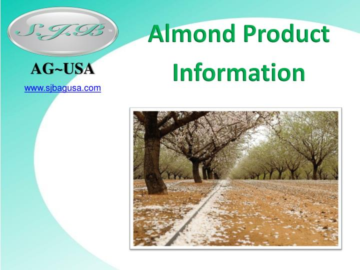Almond product information