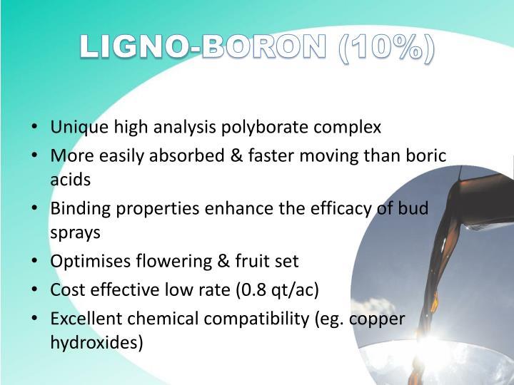 LIGNO-BORON (10%)