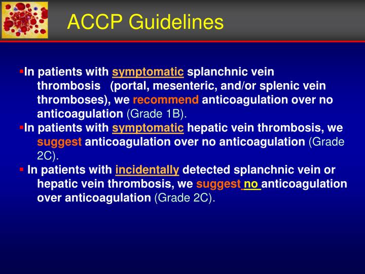 ACCP Guidelines