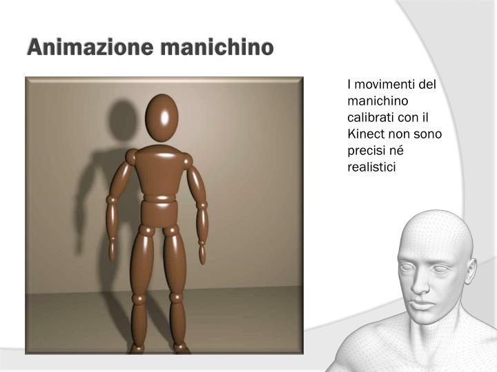 Animazione manichino