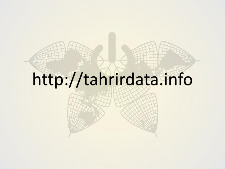 http://tahrirdata.info