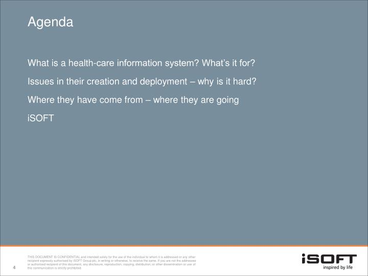 What is a health-care information system? What's it for?