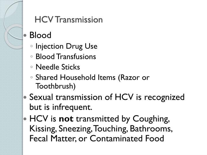 HCV Transmission