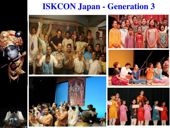 ISKCON Japan - Generation 3