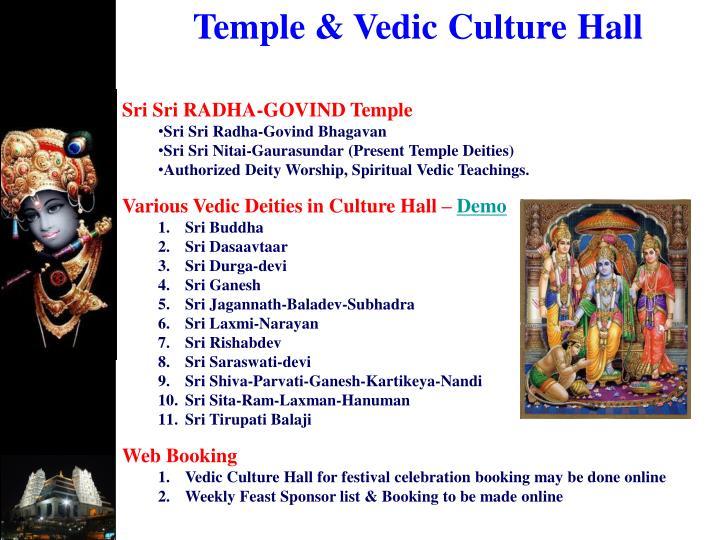 Temple & Vedic