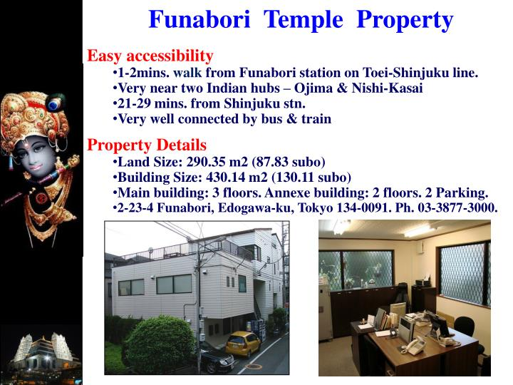 Funabori  Temple  Property