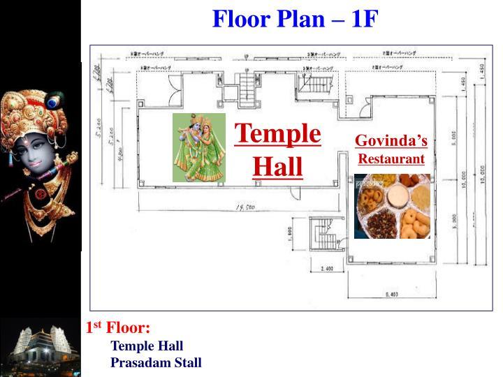 Floor Plan – 1F