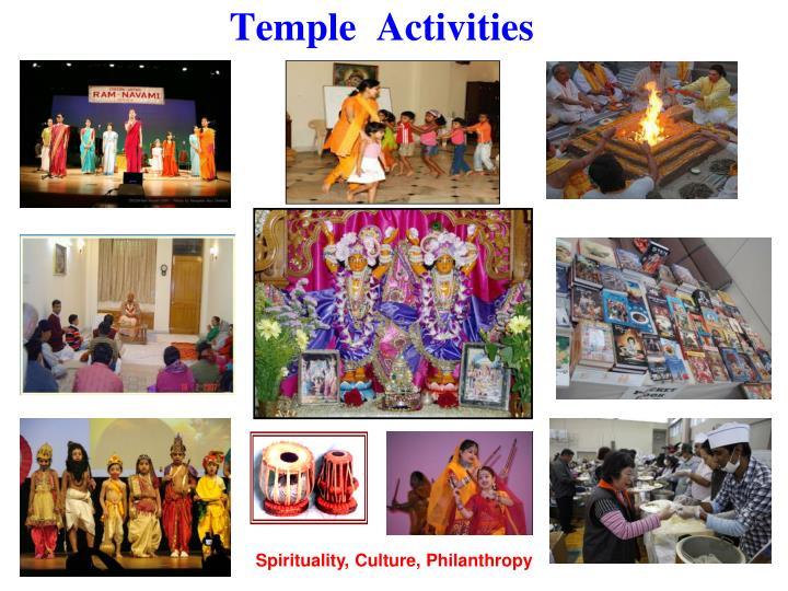 Temple  Activities
