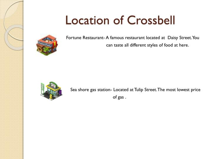 Location of Crossbell