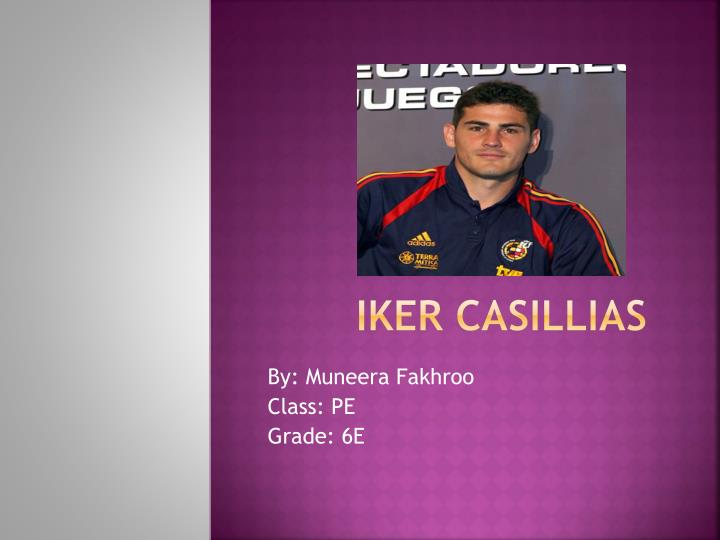 Iker casillias