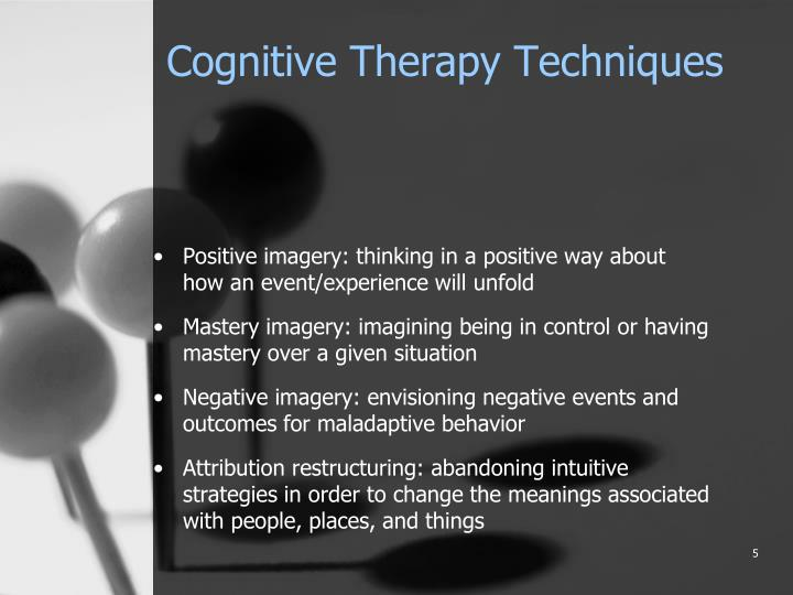 the behavioral cognitive theories and techniques Cognitive psychology is the scientific study of the mind as an eg behaviorism + cognitive psychology = social learning theory biology + cognitive psychology = evolutionary psychology methodology for example, cognitive behavioral therapy (cbt) has been very effective for.