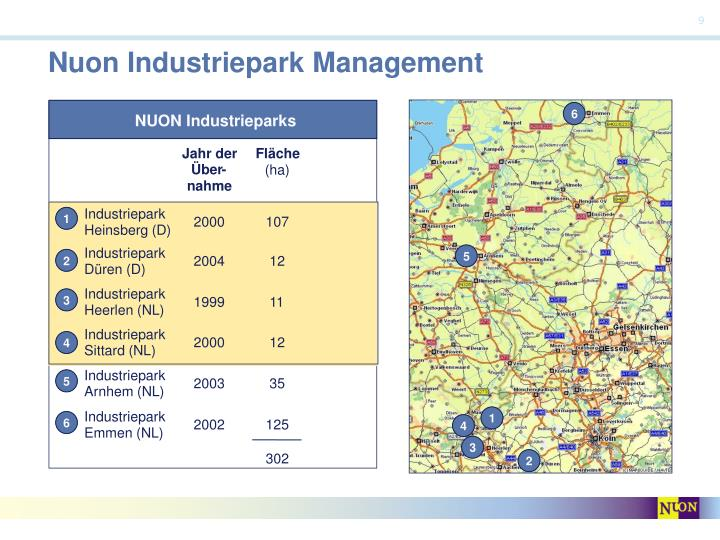 Nuon Industriepark Management