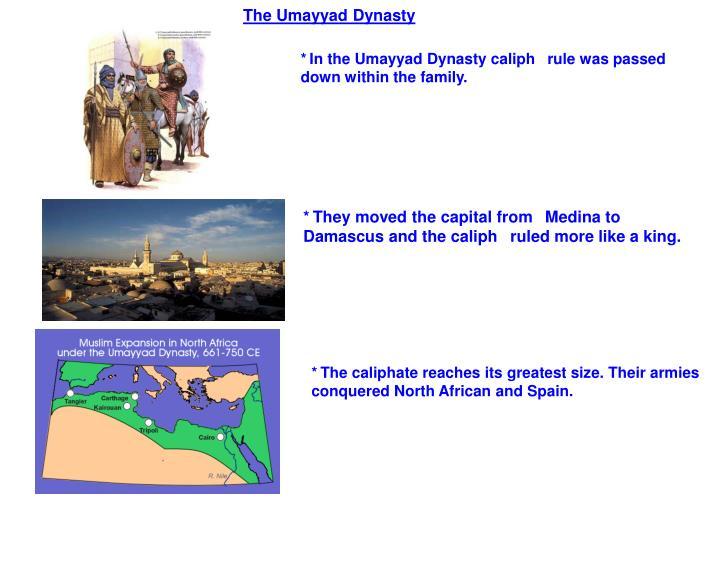 The Umayyad Dynasty