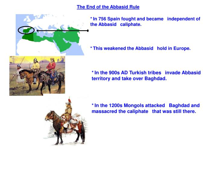 The End of the Abbasid Rule