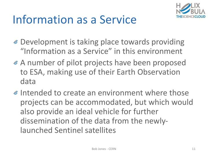 Information as a Service