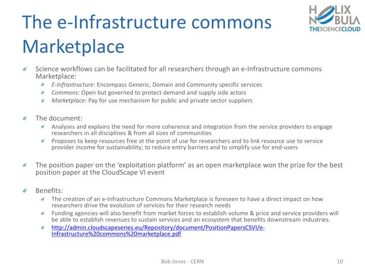 The e-Infrastructure