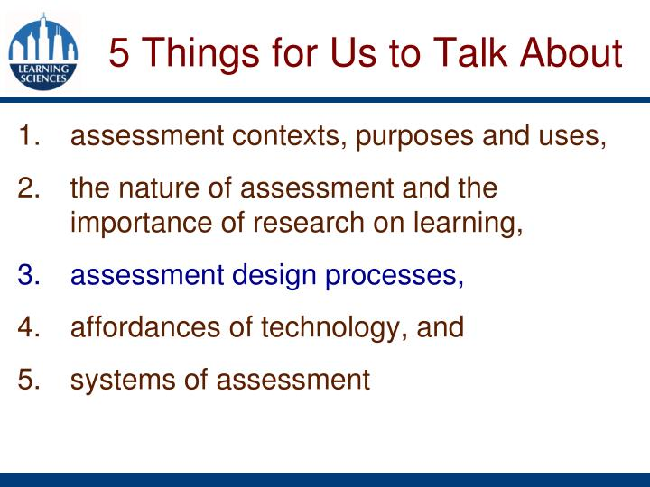 assessment contexts, purposes