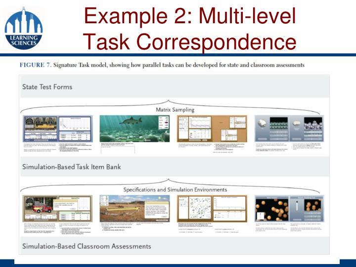 Example 2: Multi-level