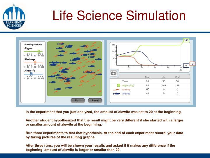 Life Science Simulation